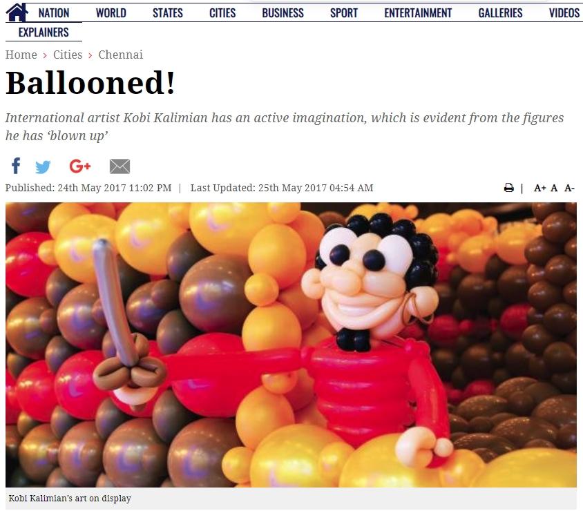 Ballooned!